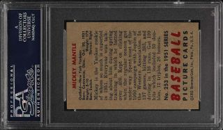 1951 Bowman Mickey Mantle ROOKIE RC 253 PSA 8 (oc) NM - MT (PWCC) 2