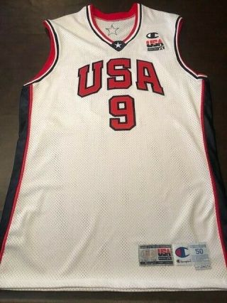 VINCE CARTER 2000 GAME - ISSUED OLYMPIC JERSEY 2