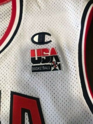 VINCE CARTER 2000 GAME - ISSUED OLYMPIC JERSEY 4