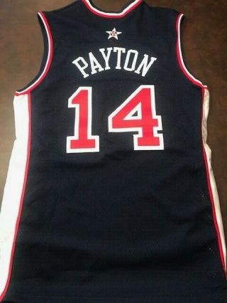 Gary Payton Game - Issued 2000 Olympic Jersey