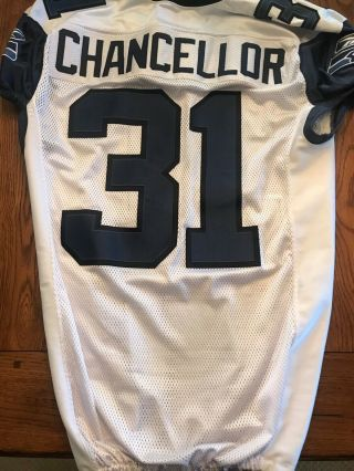 Cam Chancellor Seattle Seahawks Game 2010 Reebok Size 50 Jersey