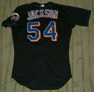 York Mets Al Jackson Game Worn 2000 Home Jersey (pirates Cardinals)
