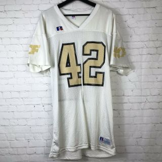 Vtg Russell Ucf University Of Central Florida Knights Jersey Made In Usa Sz L - X