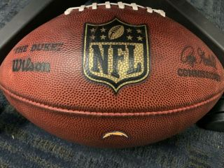 """San Diego Chargers Game Nfl Wilson """" The Duke """" Football"""