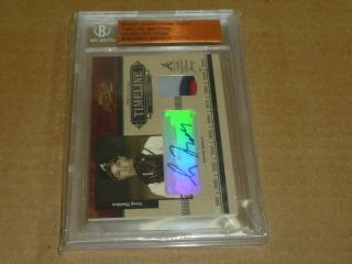 2004 Playoff Prime Cuts Greg Maddux Autograph/auto Jersey Patch Braves /50