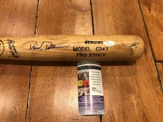 "David Dellucci Diamondbacks Signed Louisville Slugger Game Bat 34 "" Jsa"