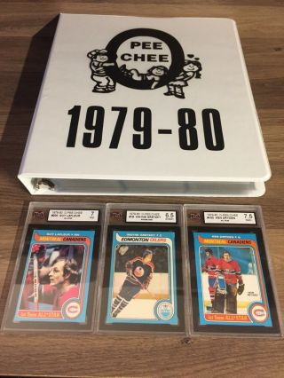 1979 80 Opc O - Pee - Chee Complete Set 396 Ex - Mt To Nm Gretzky Rc Rookie Ksa 6.  5