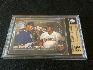 2016 Topps Now As - 1 Ken Griffey Jr.  / Tony Gwynn