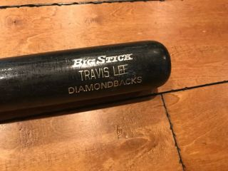 "1998 Travis Lee Arizona Diamondbacks Rawlings Adirondack Game Bat 34 "" Loa"