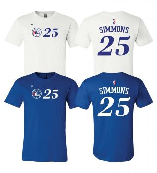 Ben Simmons Philadelphia 76ers 25 Jersey Player Shirt