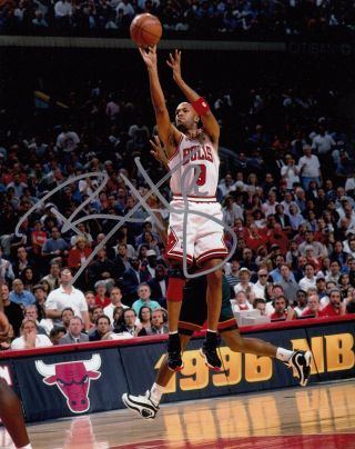 Ron Harper Chicago Bulls Lakers Clippers Cavs Autographed Signed Nba Photo 8x10