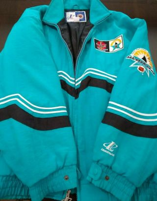 San Jose Sharks 1997 All Star Game Mens Xl Jacket - Logo Athletic - Unique Item