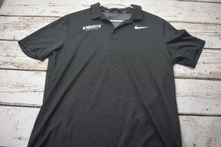 Nike Golf Ucf University Of Central Florida Knights Soccer Polo Size L