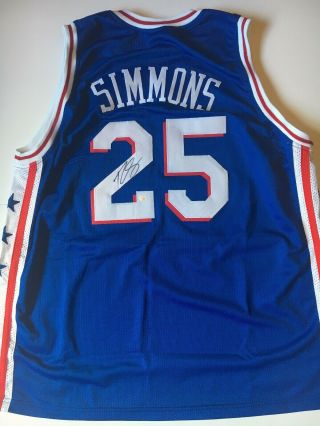 Ben Simmons Philadelphia 76ers Autographed Signed Jersey