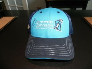 Nascar Autographed 48 Jimmie Johnson Foundation Hat