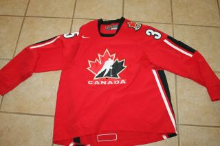 Mens Nike Team Canada Hockey Jersey 35 Turco Size Xl