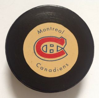 1972 - 74 Canadiens Biltrite/rawlings Puck - Lafleur,  Cournoyer,  Dryden,  Era