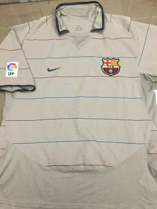 2003 2004 Barcelona Away Football Soccer Shirt Jersey Ronaldinho Xavi Puyol Era