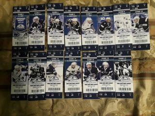 2013 - 14 Penn State Hockey Ticket Stubs Inaugural Season Pegula Ice Arena Big Ten