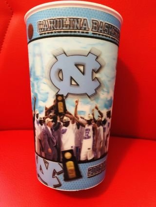 North Carolina Tar Heels 2005 National Champions Hologram Plastic Cup