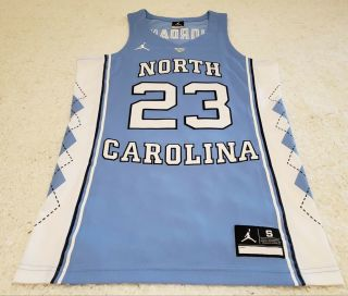 Authentic Mens North Carolina Tar Heels Michael Jordan Jersey Size Small S