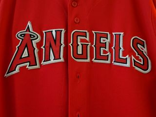 Los Angeles Angels Baseball Jersey Size 44