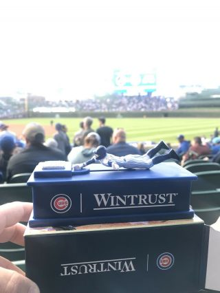 Javier Baez (javy) Chicago Cubs Sliding Coin Bank Giveaway 6/20/19 Sga E2