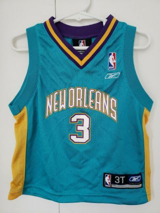 Chris Paul Orleans Hornets Blue Nba Jersey 3t Toddlers Nba Reebok Classic