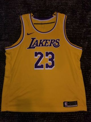 Lebron James Los Angeles Lakers Nike 2018 Nba Men