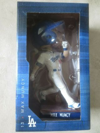 Max Muncy Los Angeles Dodgers Baseball Bobblehead Bobble Head Nodder 2019 Promo