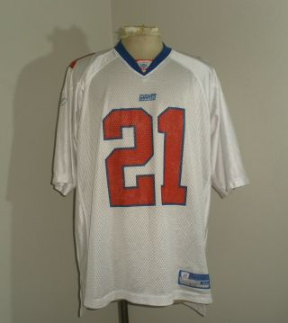Mens Reebok York Ny Giants Tiki Barber 21 Football Jersey Xl