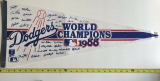 Los Angeles Dodgers / World Champions 1988 Pennant