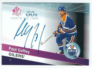 "Paul Coffey 2018/19 Ud Sp Authentic "" 80"