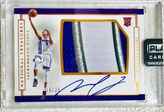 Skal Labissiere 2016 - 17 National Treasures 19/25 4 Clr Rookie Patch Auto Rc Rpa