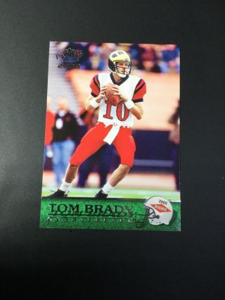 Tom Brady 2000 Pacific Tom Brady Rookie Card England Patriots 403 Nfl Card