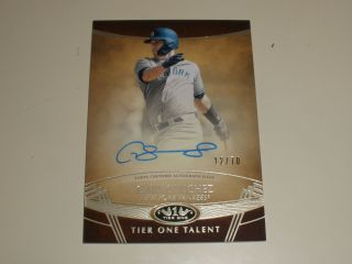 2019 Topps Tier 1 One Talent Autograph Auto Gs Gary Sanchez 12/70