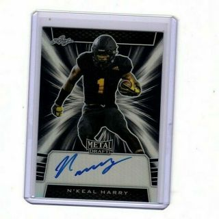 2019 Leaf Metal Draft Black Wave N