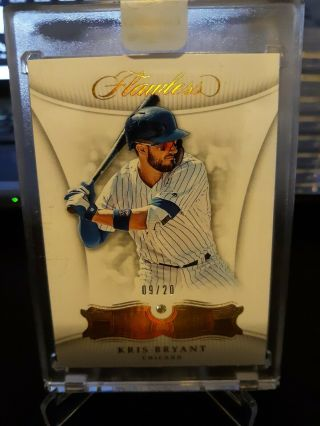 Kris Bryant 2018 Flawless Authentic Encased Diamond Card D 09/20 Chicago Cubs