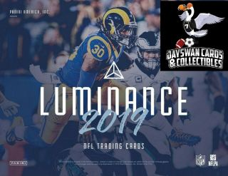 Baltimore Ravens 2019 Panini Luminance Football 12 Box Full Case Break