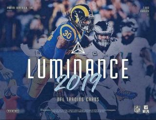 York Giants - 2019 Panini Luminance Football Full Case 6 Box Break 1