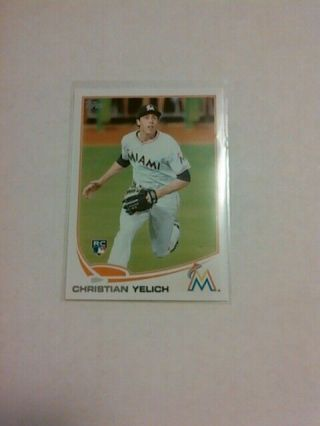 Christian Yelich Rookie 2013 Topps Update Us290