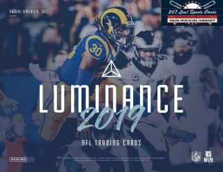San Francisco 49ers 2019 Luminance Full Case Break