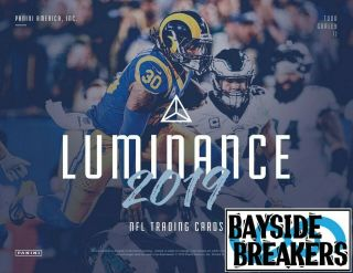 Denver Broncos 2019 Panini Luminance Football Full Case (12 Box) Break 1