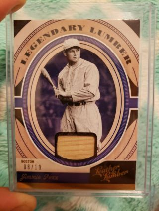 2019 Leather And Lumber Jimmie Foxx Legendary Lumber Relic 8/10