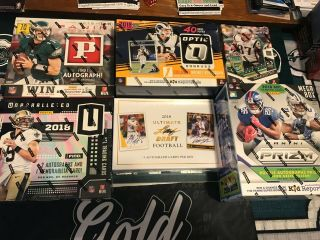Dallas Cowboys 2018 Case Break 6 - Box Unparalleled - Prizm - Ultimate Draft Mixer