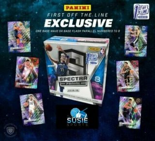York Knicks 2018 - 19 Panini Spectra Basketball Fotl 6 Box Break