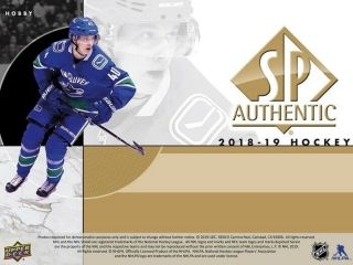 Los Angeles Kings 2018/19 18/19 Sp Authentic Master Case Break 16x Boxes 1