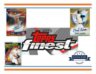 2019 Topps Finest 4 - Box (1/2 Case) Break 6/7 - York Yankees