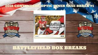 Baltimore Ravens 2018 Contenders Optic Football Inner Case 10 Box Break 1