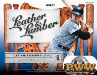 Boston Red Sox 2019 Leather & Lumber Baseball 5 Box Half Case Break 3